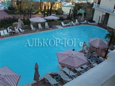 Прометей Клуб открытый обогреваемый бассейн Алькор ЮГ